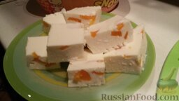 Творожный десерт (очень легкий)