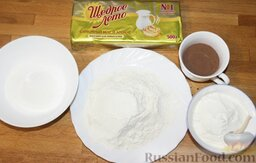 """Печенье """"Шоколадные слоеные язычки"""": Ингредиенты для приготовления печенья"""