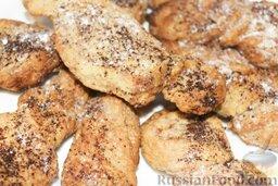 """Печенье """"Шоколадные слоеные язычки"""": Почувствовали нежный аромат выпечки, и язычки выглядят румяными? Печенье"""