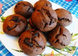 Кофейное печенье с кусочками шоколада