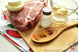 Бифштекс из свинины: Готовим продукты для свиного бифштекса.