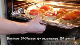 Пиде с сыром и яйцом: Выпекать 20-30 минут при температуре 200 градусов.