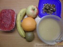 Блинчики с какао: Подготавливаем начинку.