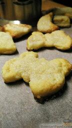 Творожное печенье: При выпекании печенье поднимется, после остывания немного осядет. Однако останется нежным и мягким.