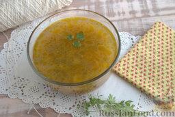 Солянка рыбная с кальмарами (в мультиварке): Подаем ароматный суп с копчеными кальмарами в любое время.