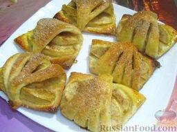 Творожное печенье с яблоками: Творожное печенье с яблоками готово. Приятного аппетита!