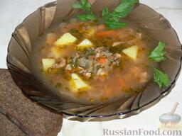 Суп с килькой в томатном соусе: Приятного аппетита!