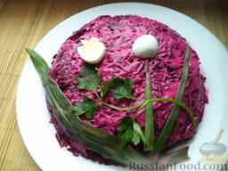 """Слоеный салат """"Вдохновение"""" с крабовыми палочками: Поставить в холодильник на 2-3 часа.  Слоеный салат с крабовыми палочками"""