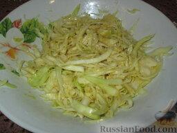 Салат из капусты по-немецки: Салат из капусты по-немецки готов. Приятного аппетита!