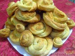 Творожные розочки: Творожное печенье