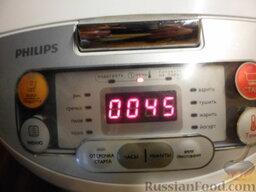 Картофельная запеканка с мясными шариками: Можно готовить картофельную запеканку в мультиварке или отправить в разогретую до 180 градусов духовку на 40 минут.