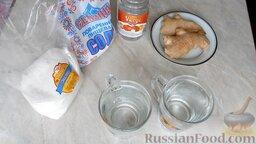 Маринованный имбирь: Для приготовления маринованного имбиря понадобится небольшое количество доступных продуктов.