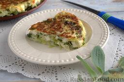 Запеканка капустная с адыгейским сыром (в мультиварке): Подаем капустную запеканку с сыром в любое время. Приятного аппетита!
