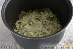 Запеканка капустная с адыгейским сыром (в мультиварке): Включаем мультиварку на режим «Выпечка», ждем 30 минут.  Капустная запеканка в микроволновке готова.