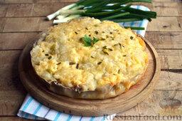 Мясная запеканка с картофельным пюре (в мультиварке): Даем запеканке с мясным фаршем остыть и затем извлекаем ее из чаши мультиварки.  Мясная запеканка в мультиварке готова.