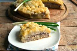 Мясная запеканка с картофельным пюре (в мультиварке): Мясную запеканку с картофелем подаем к столу горячей.  Приятного аппетита!