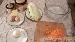 Салат из пекинской капусты с мидиями: Как приготовить салат из пекинской капусты, с мидиями:    Натереть морковь на терке.