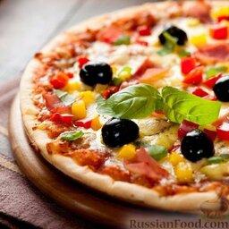 Кефирное тесто для пиццы