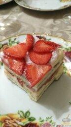 Торт фрезье с киви рецепт с фото пошагово