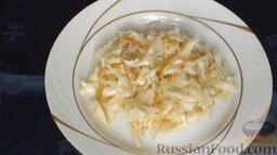 Квашеная капуста: Квашеная капуста с морковью готова.