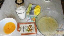Шарлотка с яблоками и корицей: Как приготовить шарлотку с яблоками и корицей:    Белки отделить от желтков.
