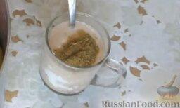 Болгарский перец, фаршированный мясом и рисом: Добавить специи (1 ч. ложка) и хорошо перемешать.