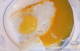 Молочная рисовая каша в тыкве: Подавать рисовую кашу с мёдом.  Приятного аппетита!