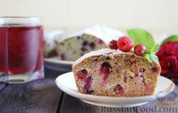 Цельнозерновой пирог с крыжовником и смородиной: Наливаем вкусный чай, наслаждаемся вкусной выпечкой!