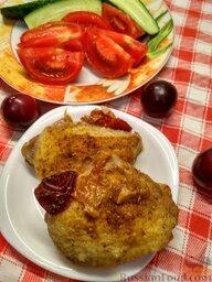 Запеченная курица со сливой (в мультиварке)