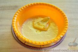 Вишневый кекс с изюмом: В полученную массу добавляем размягченный маргарин