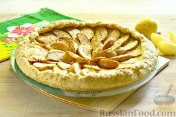 Пирог с яблоками: Приятного чаепития!