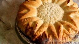 Дрожжевой пирог с творожно-тыквенной начинкой: Дрожжевой пирог с творожно-тыквенной начинкой готов.