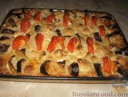 Запеканка рисовая с куриной грудкой и овощами: Рисовая запеканка с курицей и овощами готова.