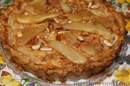 Баварский грушевый пирог