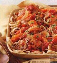 Курица с овощами (в медленноварке)