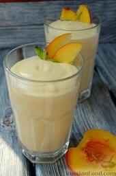 Парфе с персиком и медом