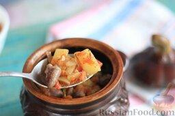 Куриные сердечки в горшочках, с овощами: Приятного аппетита!