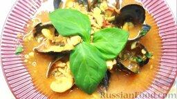 Рыбный суп буйабес: Полезный и вкусный рыбный суп буйабес готов.  Всем приятного аппетита!