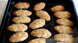 Куриные котлеты без яиц (в духовке): Куриные котлеты без яиц готовы.