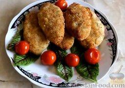 Куриные котлеты без яиц (в духовке): Подавать горячими.   Готовьте с удовольствием!