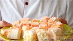 Маршмеллоу в домашних условиях: Домашний маршмеллоу готов.   Попробуйте и вы приготовить дома маршмеллоу - это очень вкусный и простой десерт.  Всем приятного аппетита!