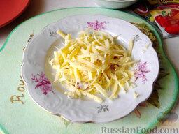 Остренькие баклажаны в аэрогриле: Сыр натрите на любой терке.