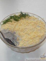 Форшмак из сельди с творогом: Перед подачей форшмак из селедки с творогом посыпать тертым сыром.  Приятного аппетита!