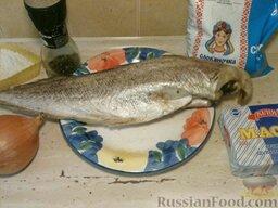 Треска тушеная: Подготовить продукты для приготовления тушеной трески.