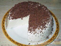 Торт-желе «Птичье молоко»