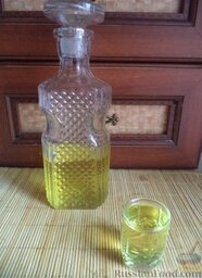Лимонная водка № 1: Лимонная водка № 1 готова.  Приятного аппетита!