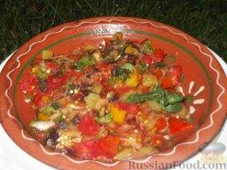 Овощи на мангале: Подавайте к шашлыку.
