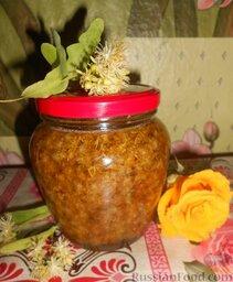 Варенье из цветов липы рецепт