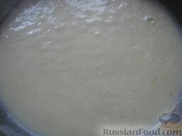 Говядина тушеная с овощами: Довести соус до кипения.