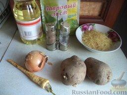 Суп картофельный с вермишелью: Продукты для рецепта перед вами.    Как приготовить картофельный суп с вермишелью: